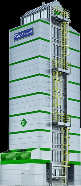Secador de café vertical SMI 80